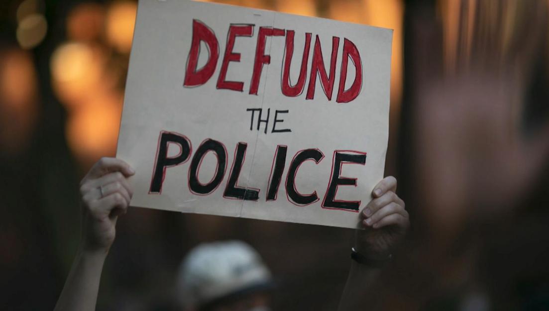 Defund the Police banner