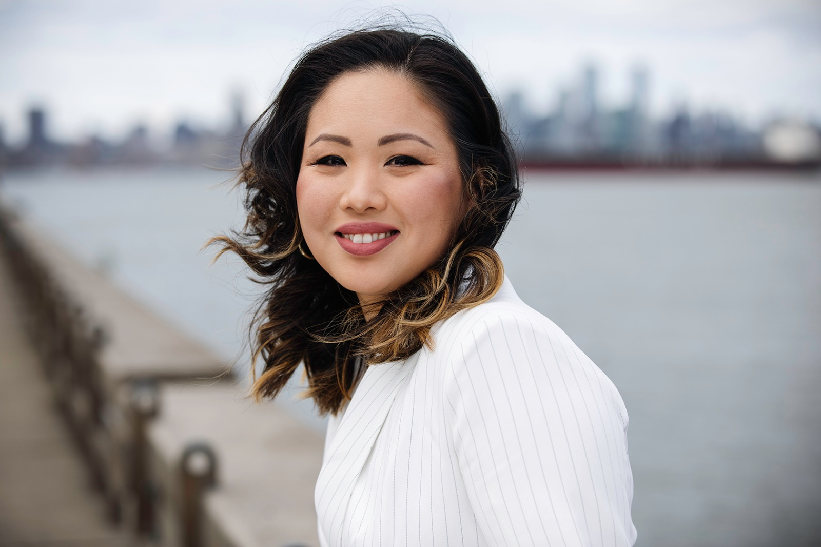 Julia Cha close up